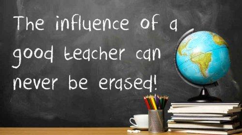cómo es un buen profesor