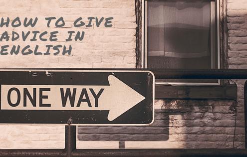 cómo dar consejos en inglés