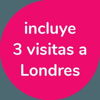 3 visitas a Londres