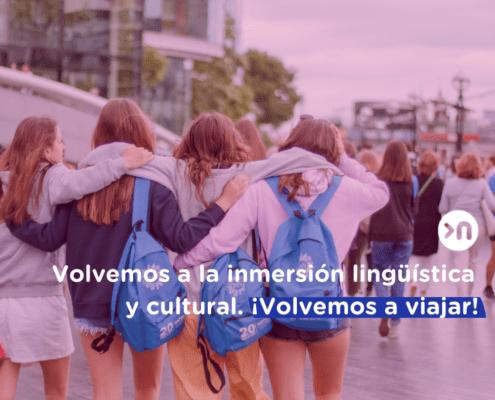 inmersión lingüística y cultural en el extranjero