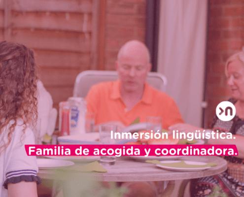 Estudiantes de inmersión lingüística