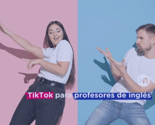 TikTok para profesores de inglés
